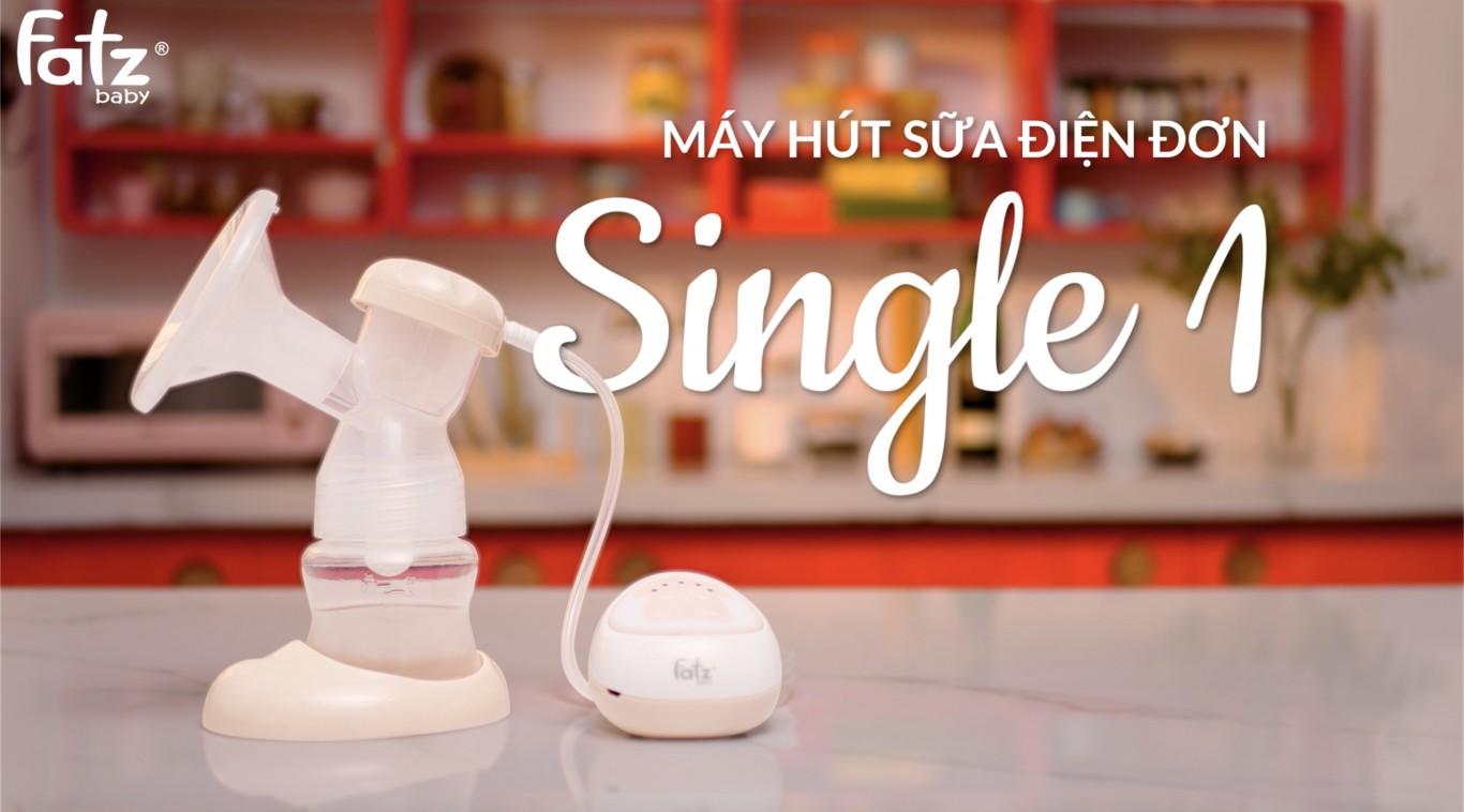 Máy hút sữa điện đơn - Single 1 - FB1009RH | Nuôi con bằng sữa mẹ | FATZBABY