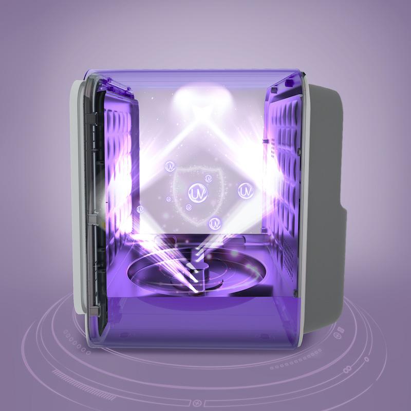 Máy tiệt trùng UVC - LED có chức năng sấy Fatzbaby - King 1 - FB4722BT