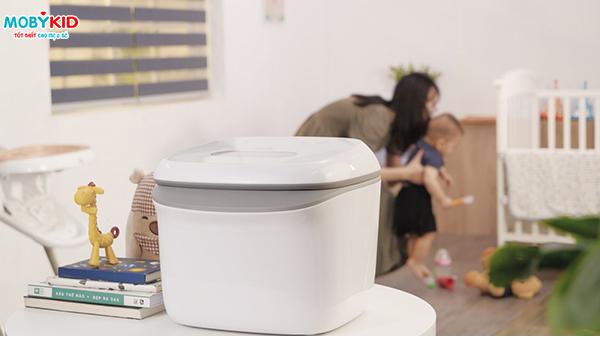 Máy tiệt trùng bình sữa sấy khô bằng tia UV có thực sự hiệu quả