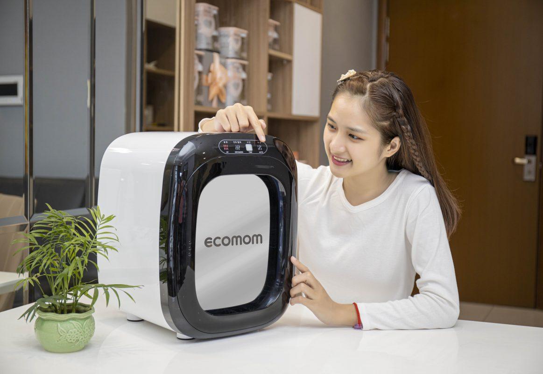 Máy tiệt trùng sấy khô khử mùi bằng tia UV Ecomom ECO-100 Pro - Màu Trắng