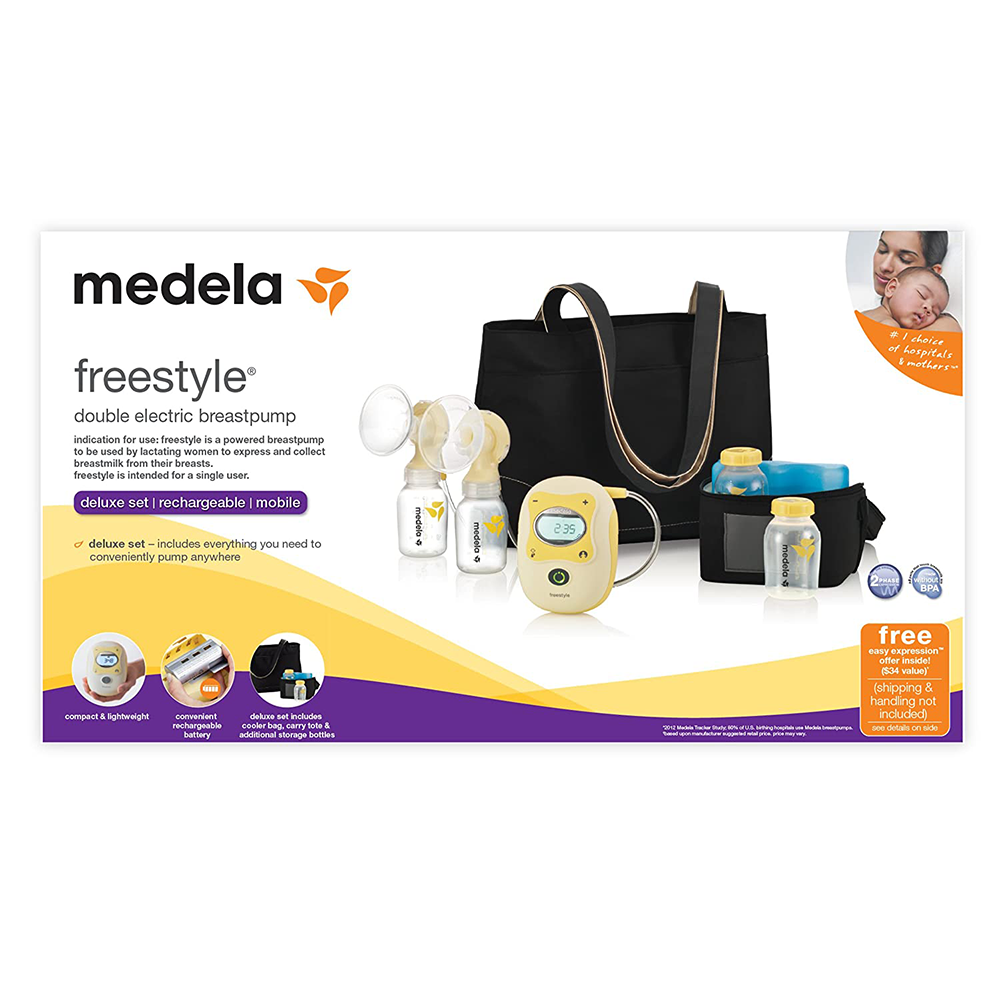 Máy Hút Sữa Điện Đôi Medela Freestyle