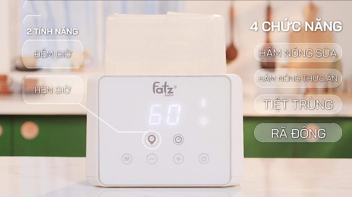 Máy hâm sữa tiệt trùng điện tử Fatzbaby - DUO 3- FB3093VN