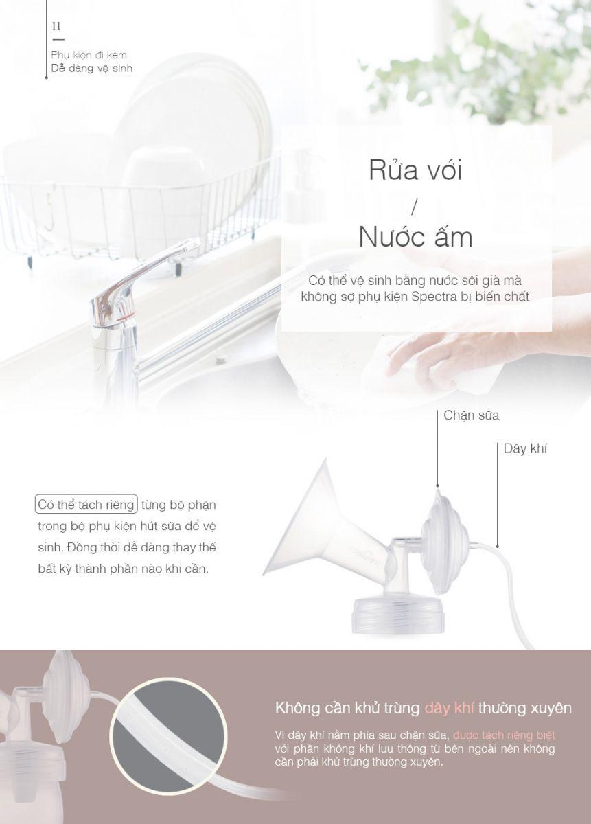 Máy hút sữa điện đôi Spectra 9S