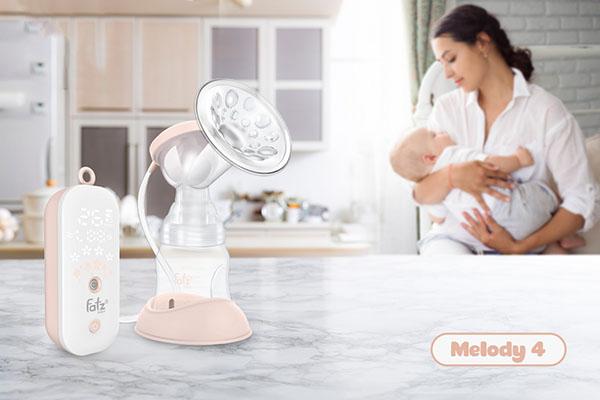Máy hút sữa điện đơn Fatzbaby Melody 4 - FB1029VN