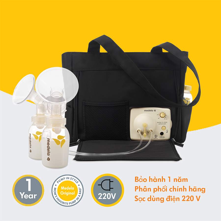 Máy hút sữa Medela Pump Instyle advanced On the Go Tote