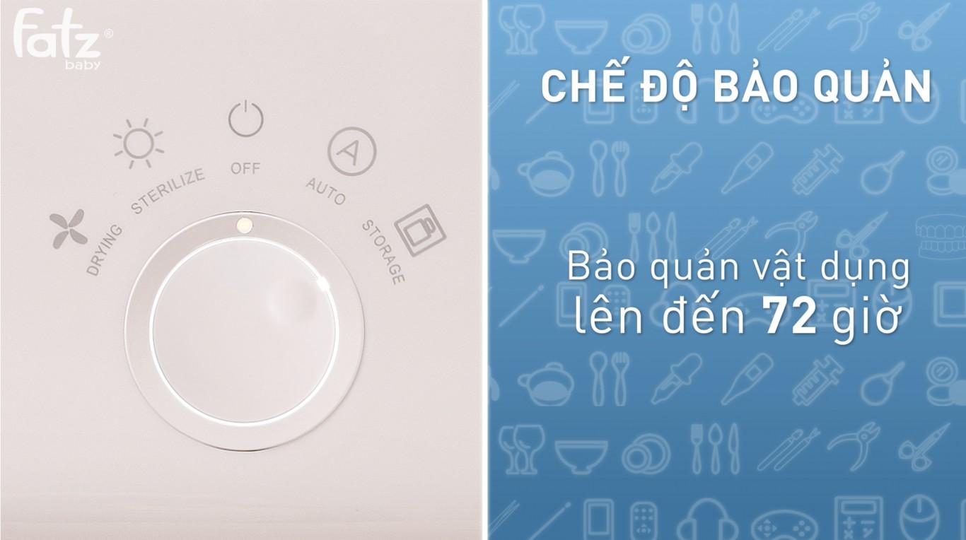 Máy tiệt trùng sấy khô UV Fatzbaby - Super - FB4715TN