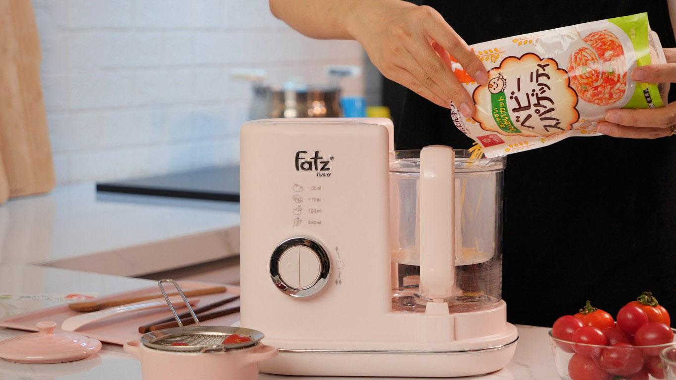 Máy xap và hấp thức ăn dặm Fatzbaby Pro 3 FB9620KM