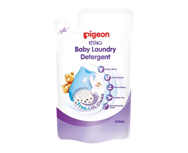 Nước giặt quần áo trẻ em Pigeon dạng túi 400ml