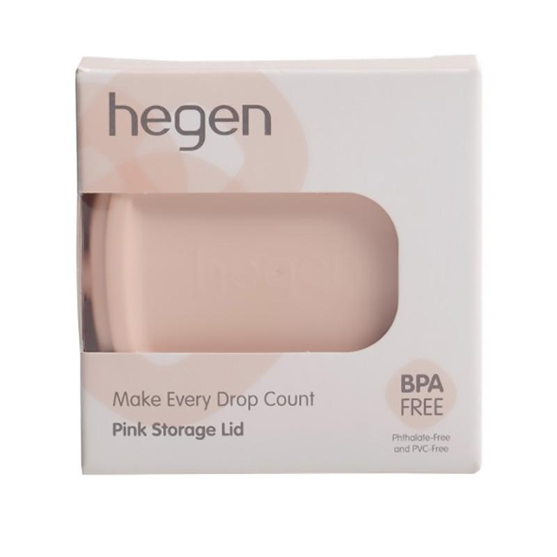 Nắp bình trữ sữa Hegen màu hồng
