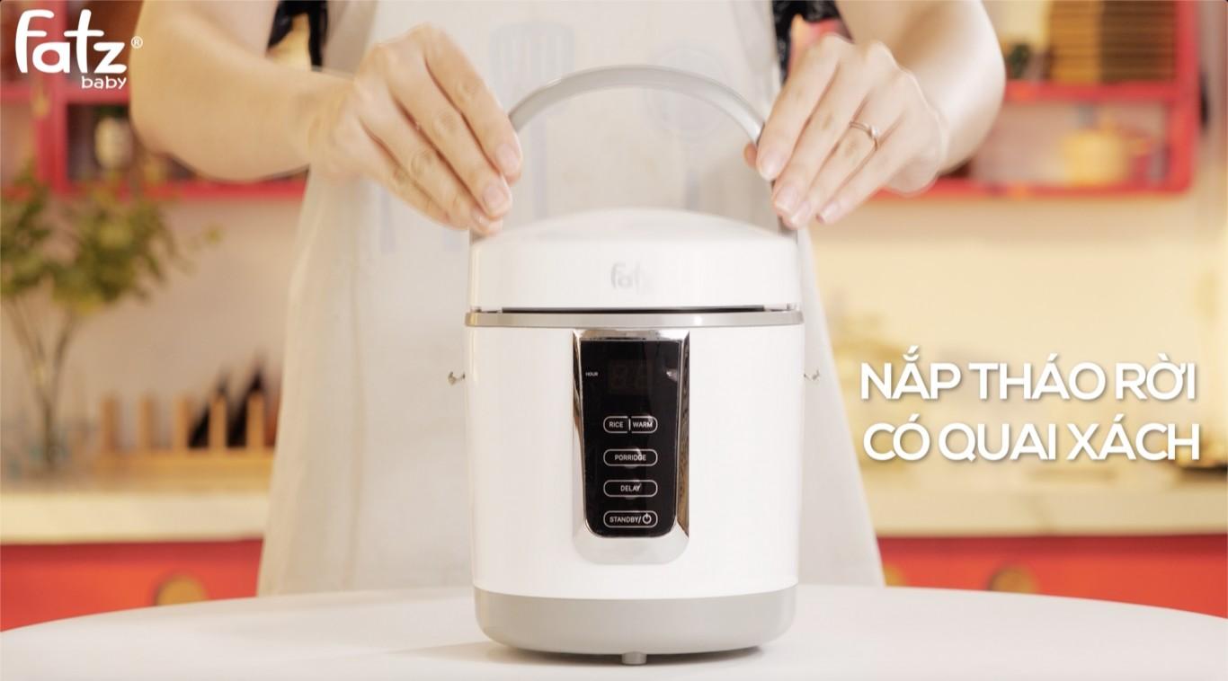 Nồi nấu đa năng có chức năng hâm sữa Fatzbaby Coo3 FB9308MH