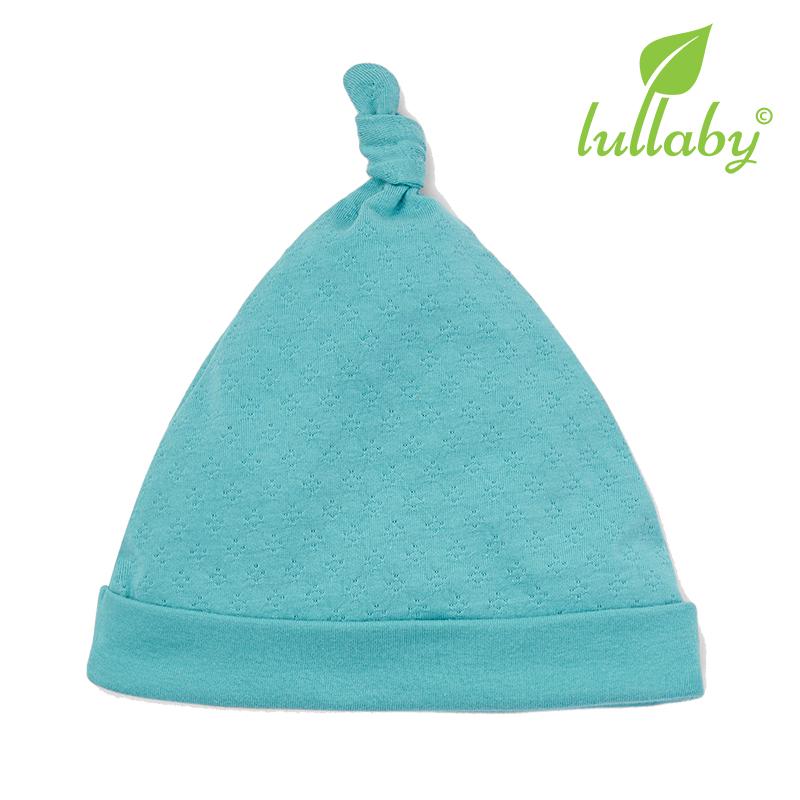 NH62B.2 - Mũ thắt nút Lullaby màu xanh