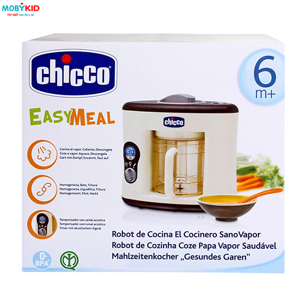 Nên mua máy xay hấp thức ăn cho bé loại nào giữa Philips Avent, Babymoov, Beaba, Chicco và Fatzbaby?