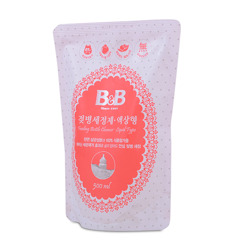 Nước Rửa Bình Sữa B&B - Túi 500ml