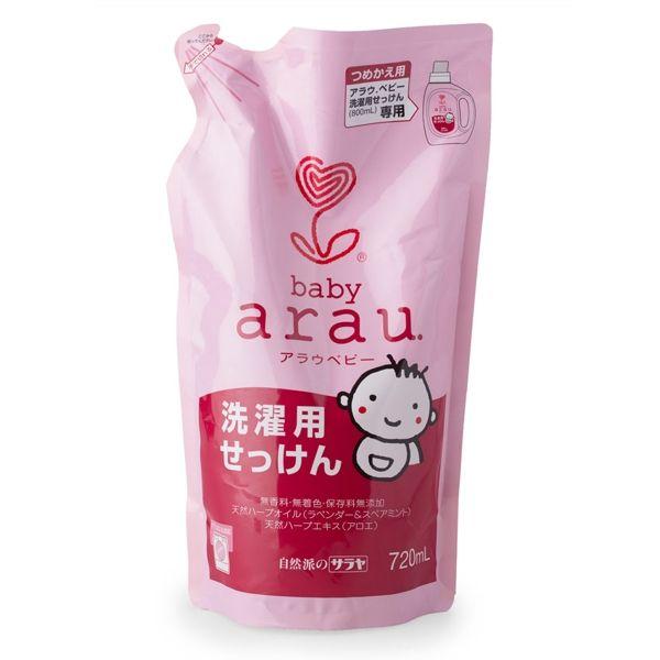 Nước giặt Arau Baby dạng túi 720ml