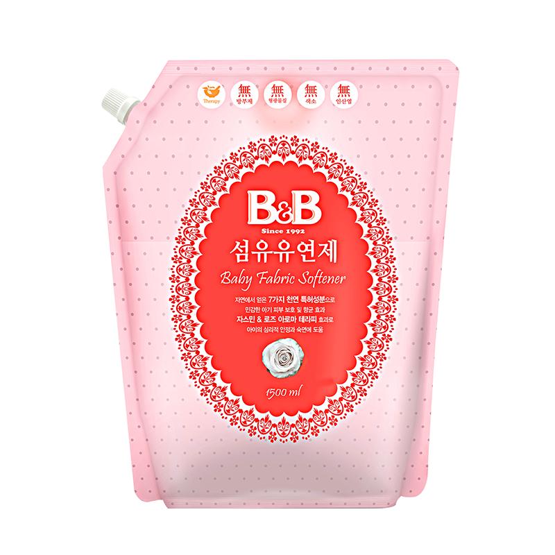 Nước xả vải dành cho bé B&B Bergamot - 1500ml