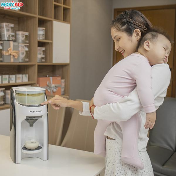 Pha sữa giúp bé không táo bón - Máy pha sữa chất lượnga 2021
