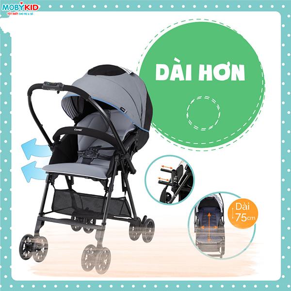 Review So sánh xe đẩy em bé Aprica Karoon Air và xe đẩy em bé Combi Handy S, nên chọn mua loại nào?