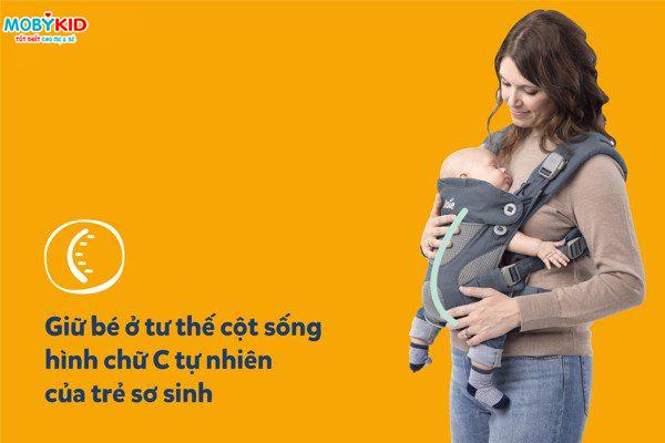Review chi tiết địu em bé Joie Savvy - Mẫu địu trẻ em lần đầu tiên ra mắt của Joie