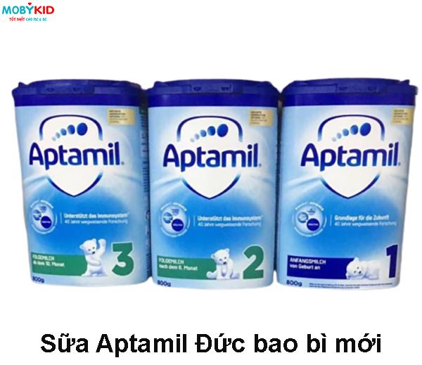 Review phân biệt so sánh sữa Aptamil Anh và sữa Aptamil Đức khác nhau gì, mẹ bỉm sữa nên mua loại nào?