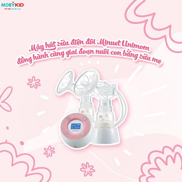 Sử dụng máy hút sữa điện đôi Unimom second hand có an toàn hay không