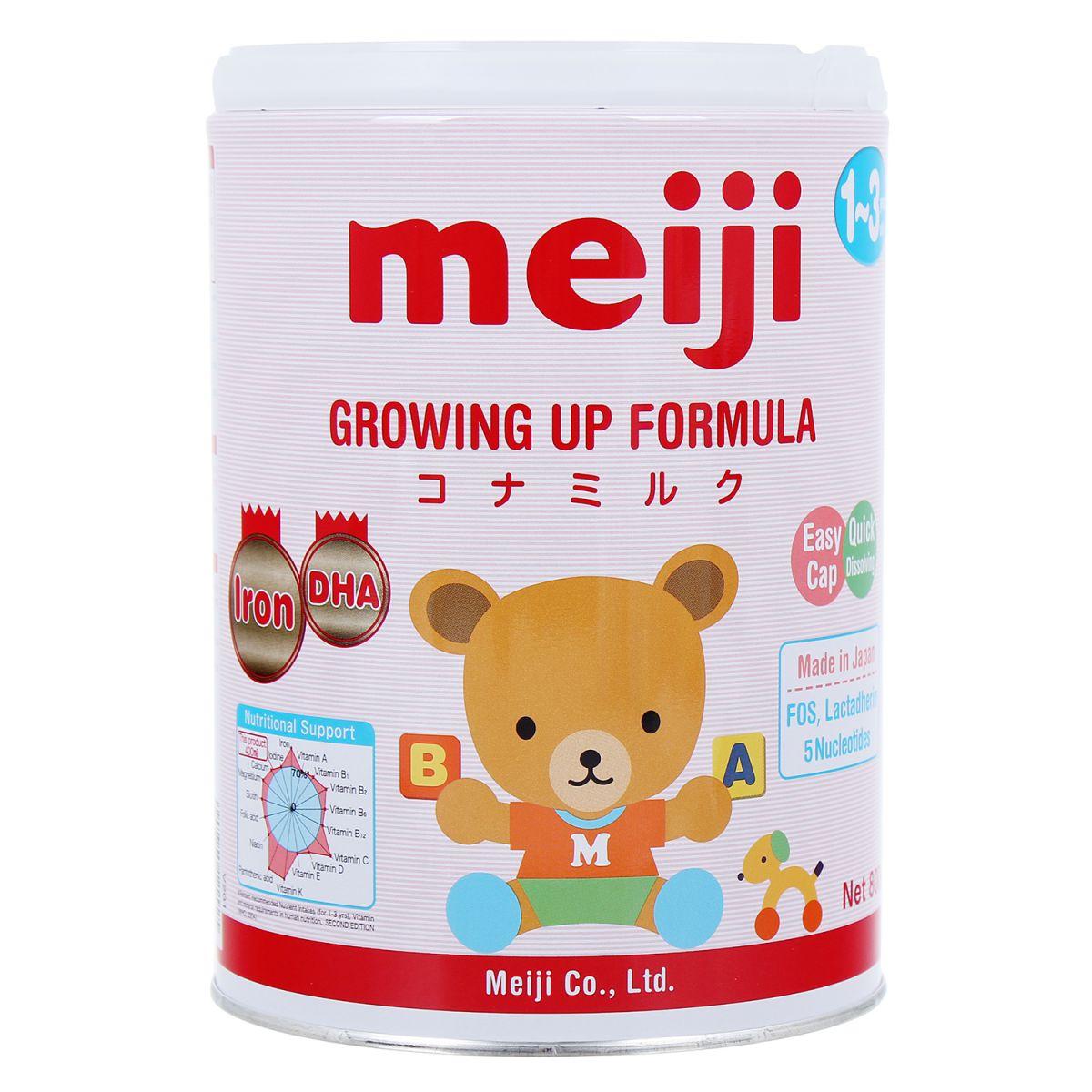 sữa meiji cho bé