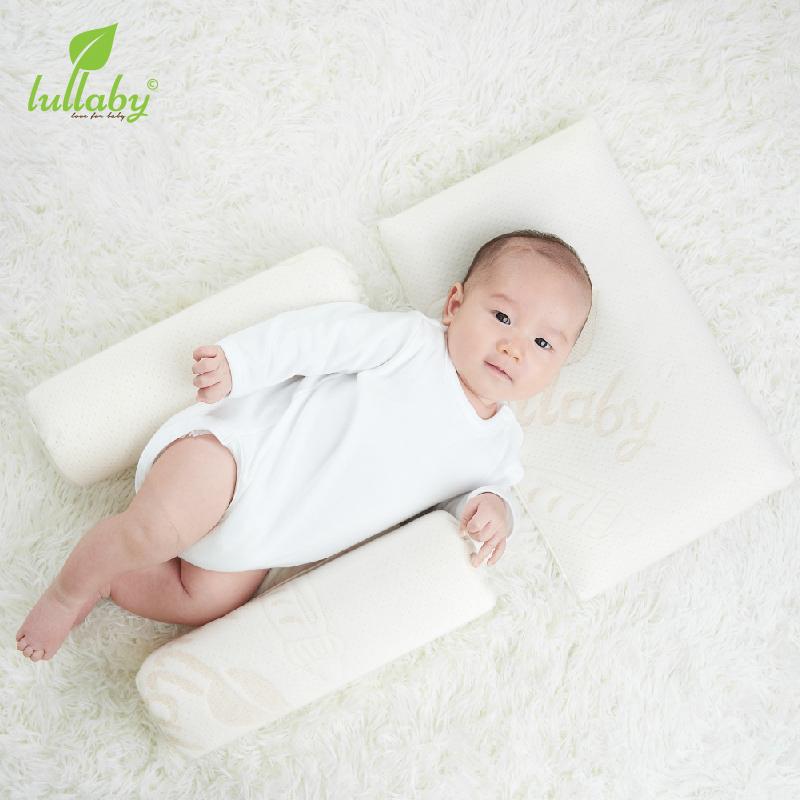 Set gối đầu - gối chặn cho bé Memory Foam Lullaby NH43-20