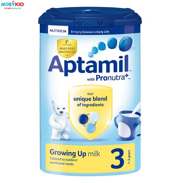 Sữa Aptamil và những điều mẹ cần biết trước khi chọn mua cho bé