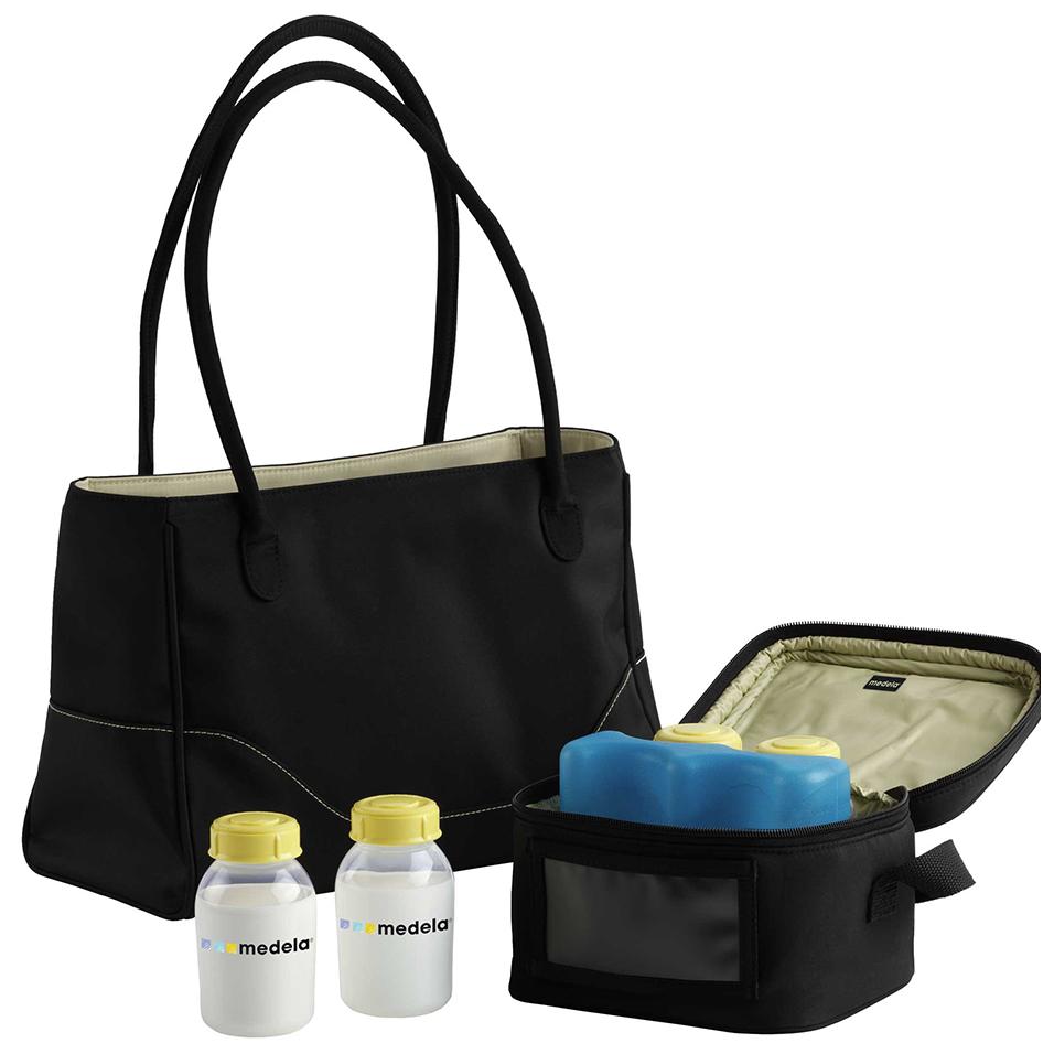 Túi xách tay bảo quản sữa chuyên dụng City style bag Medela (150ml)