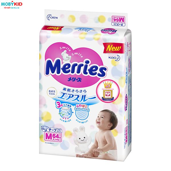 Tất Tần Tật những thông tin về Bỉm Tã Merries hữu ích cho các mẹ chuẩn bị sinh em bé