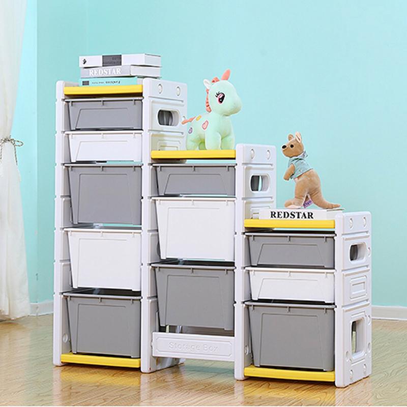 Tủ đựng đồ chơi Holla màu ghi