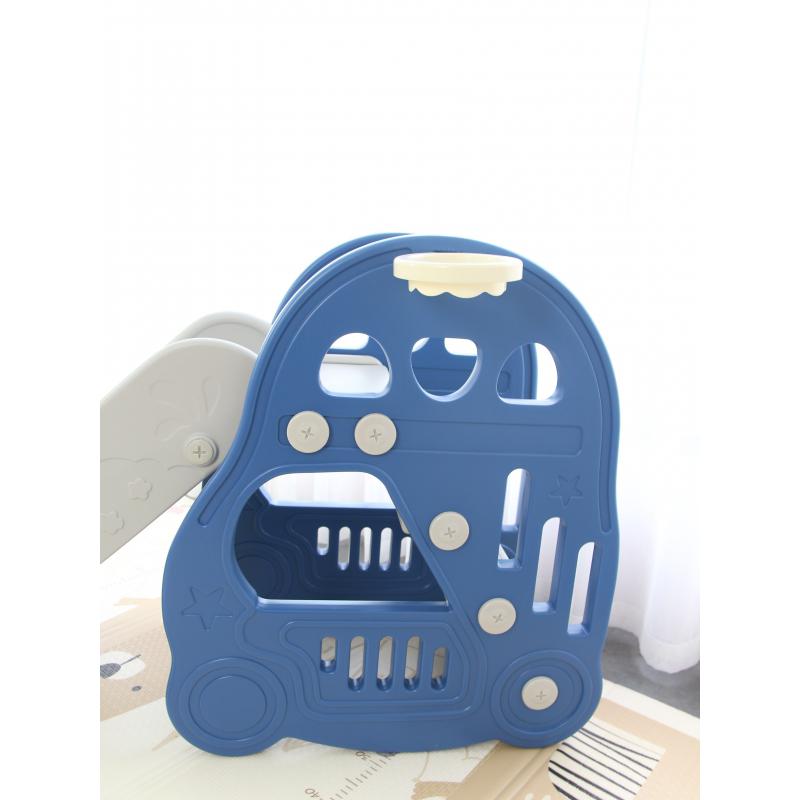 TH-052020-L-HT30 - Cầu trượt cho bé hình ô tô Toyshouse - Màu xanh dương