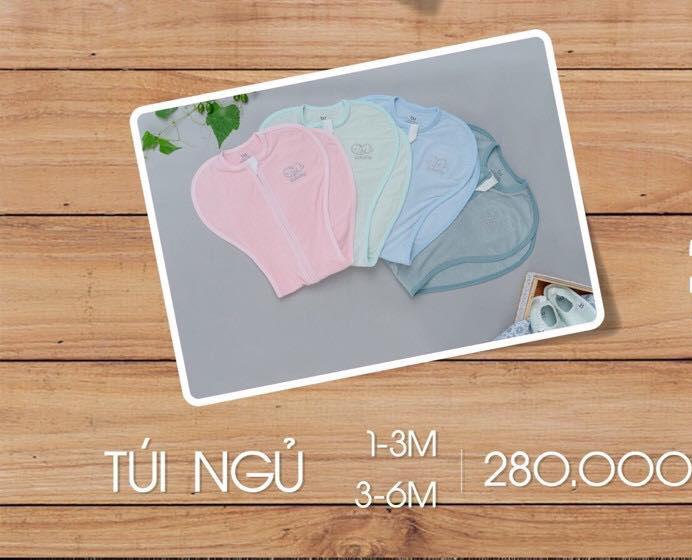 TN001.Mint- Túi ngủ cho bé - Bu