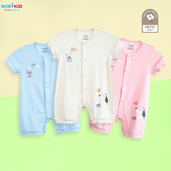 Thời trang cho bé sơ sinh: Top 4 Áo liền quần Hàn Quốc cực chất