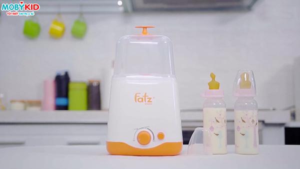 Top 3 các máy hâm sữa Fatzbaby 2 bình sữa đỉnh nhất hiện nay giá chỉ dưới 1 triệu đồng