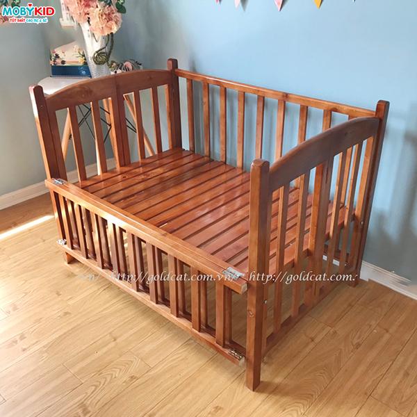 Top 3 loại cũi trẻ em giá rẻ bằng gỗ tự nhiên được ưa chuộng nhất hiện nay mẹ nên lựa chọn ngay