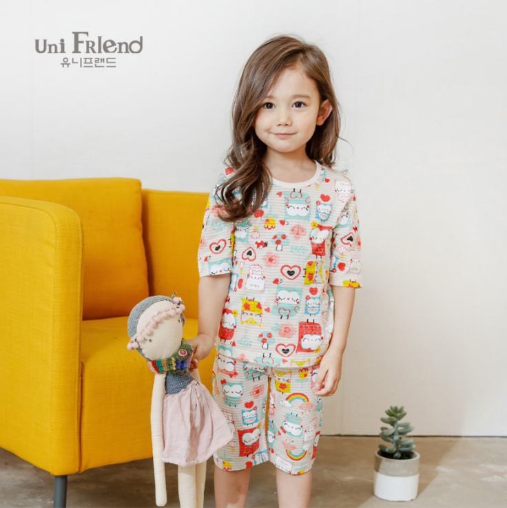 UN20410 - Set Unifriend lửng bé gái