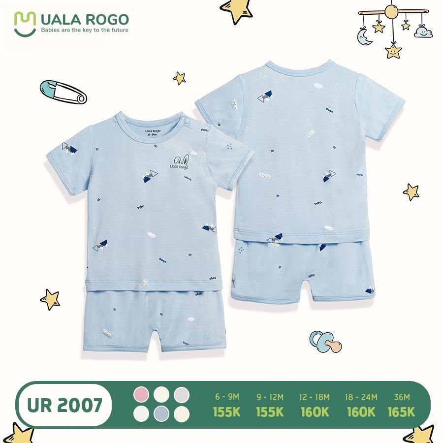 UR2007.1 - Bộ quần áo cộc tay Uala Rogo - Xanh