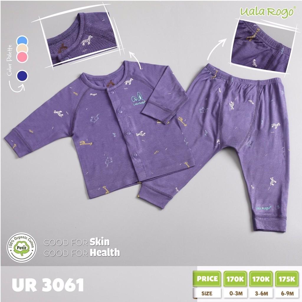 UR3061.2 - Bộ cài nút giữa cho bé - Màu tím