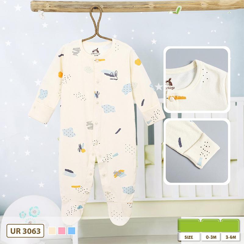 Top các mẫu Body áo liền quần cho trẻ sơ sinh đẹp và thoáng mát cho bé của thương hiệu Uala