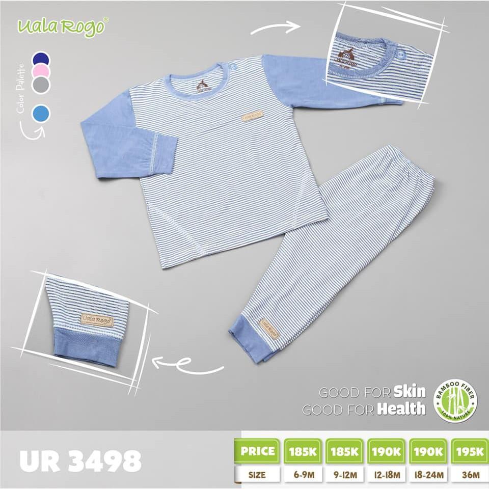 UR3498.1 - Bộ cài cúc vai cho bé - Màu xanh dương nhạt