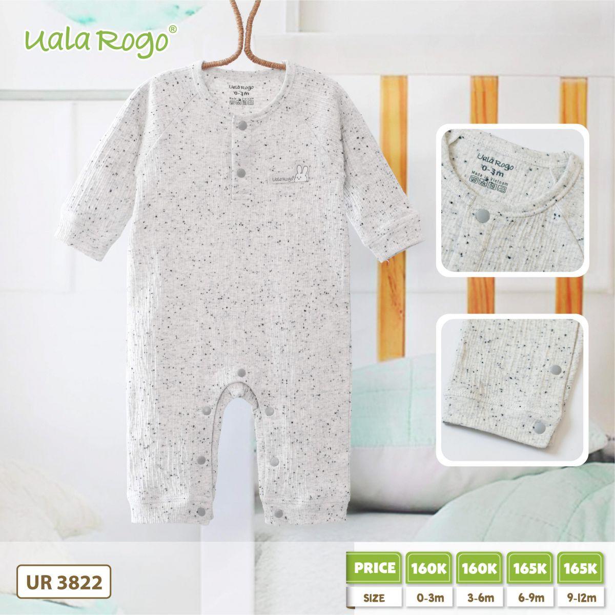 UR3822.2- Set body liền tay dài Uala Rogo