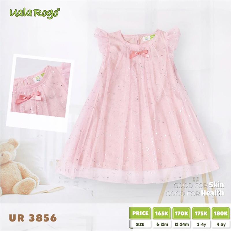 UR3856.1 - Váy cánh tiên Uala Rogo - Màu hồng