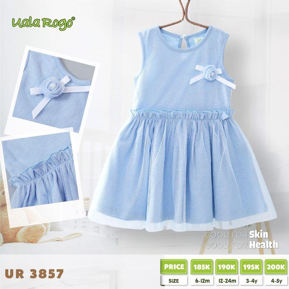UR3857.2 - Váy đuôi cá Uala Rogo - Màu xanh