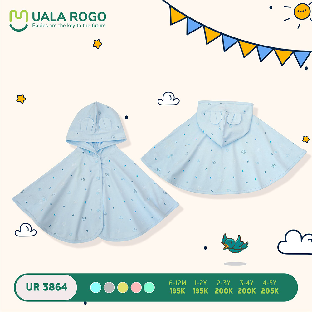 UR3864.4 - Áo choàng đa năng Uala Rogo - Màu xanh dương