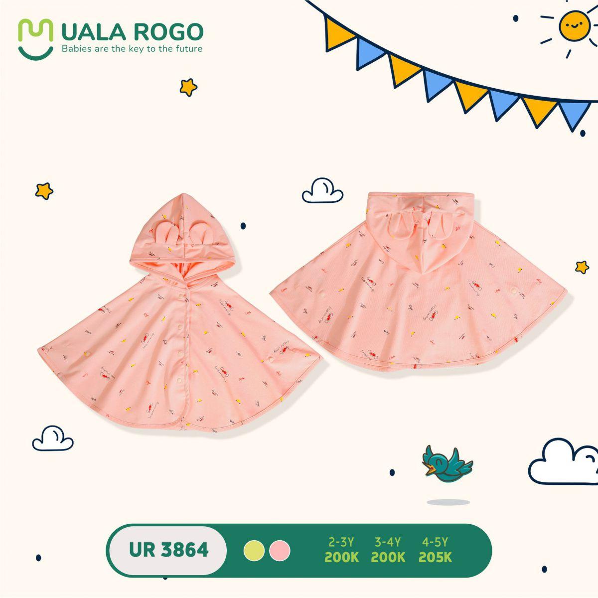 UR3864.6 - Áo choàng đa năng Uala Rogo - Màu cam
