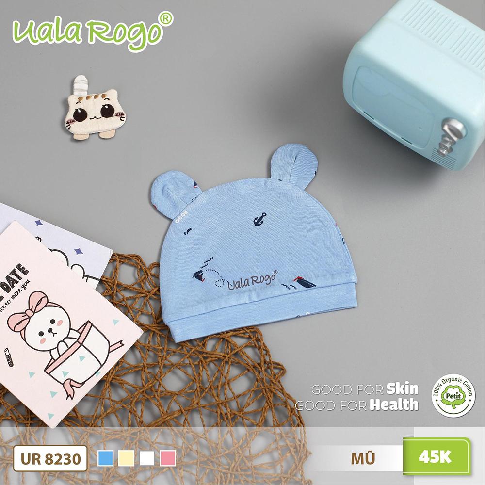 UR8230.3 - Mũ sơ sinh Uala Rogo - Màu xanh