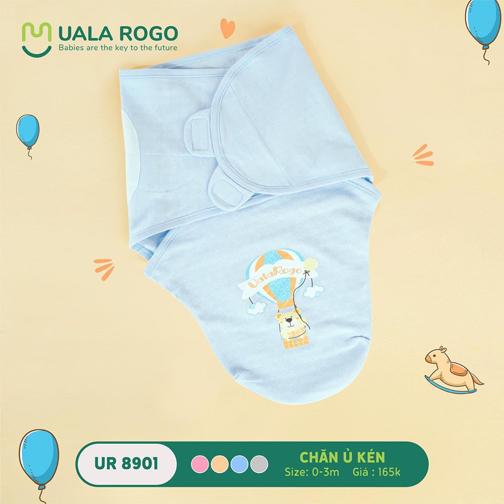 UR8901.4 - Chăn ủ kén sơ sinh Uala Rogo - Màu Xanh