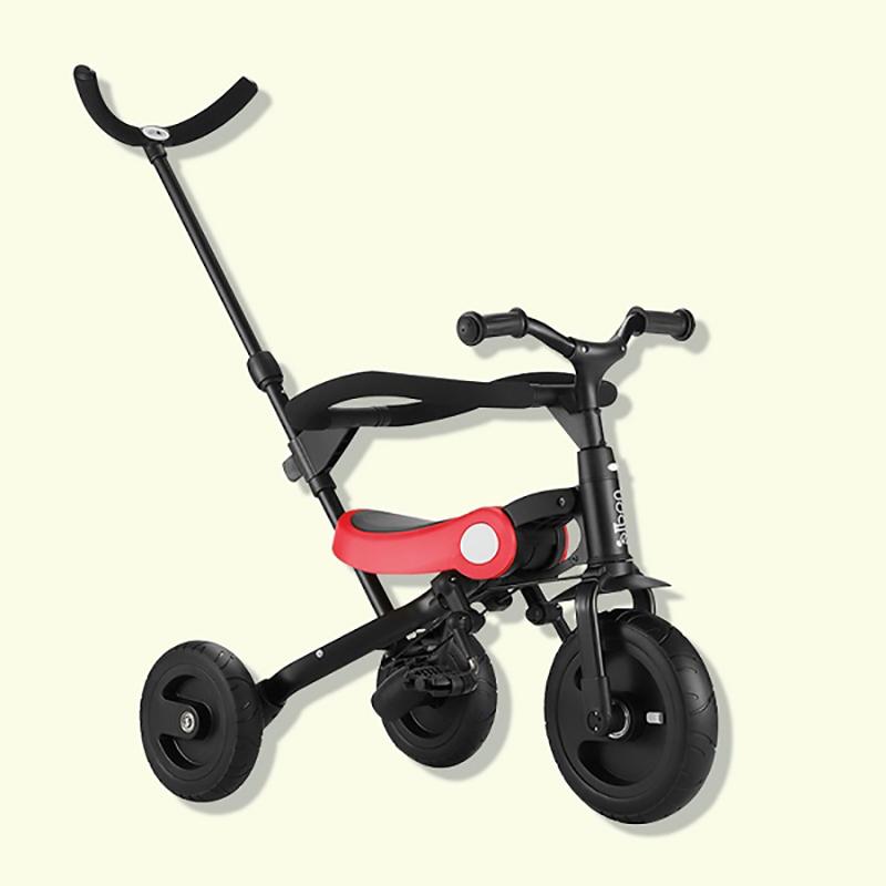 Xe đạp 3 bánh Nadle gấp gọn 3in1 SL-A2 màu đỏ