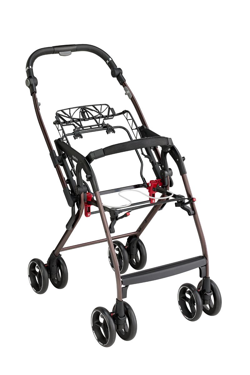 Xe đẩy trẻ em Aprica Optia Cushion Premium (Sapphire Mosaic NV)