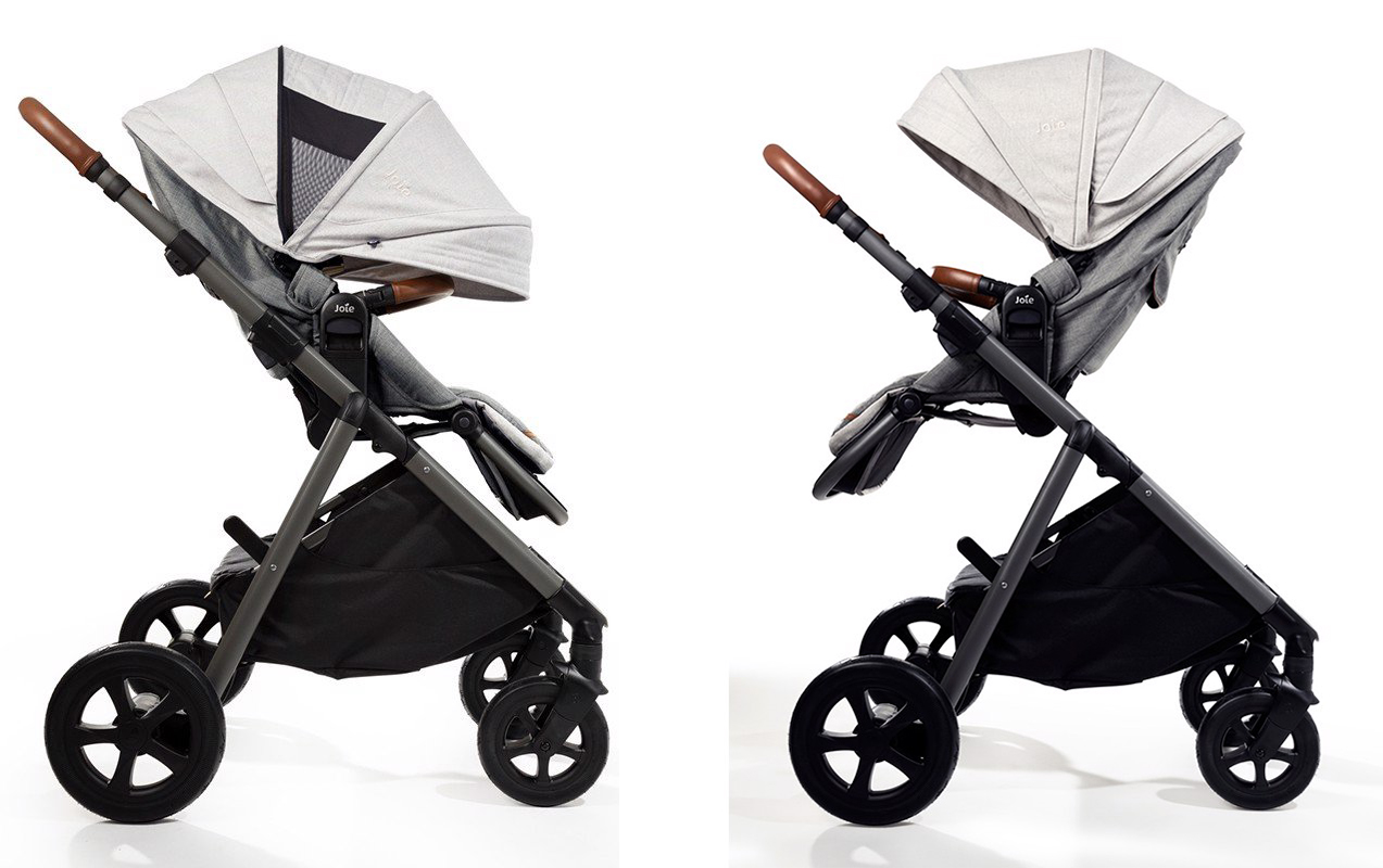 Xe đẩy trẻ em Joie Aeria Oyster